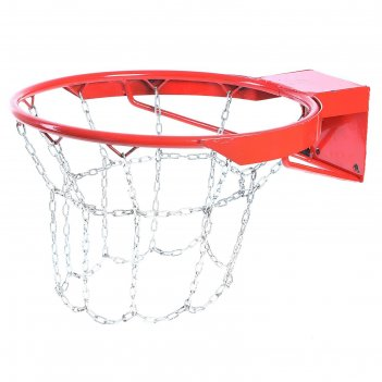 Корзина баскетбольная №7, d=450 мм, антивандальная с цепью