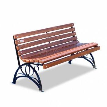 Садово-парковая скамейка «флора» 1,2 м