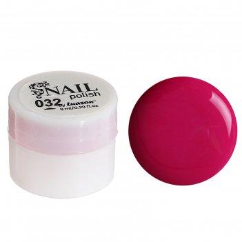 Гель-краска для ногтей 3-х фазный, 8мл, 32, цвет малиновый