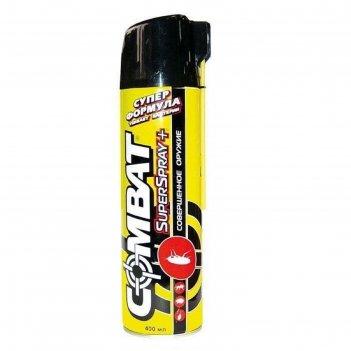Аэрозоль от насекомых combat super spray plus, 400 мл