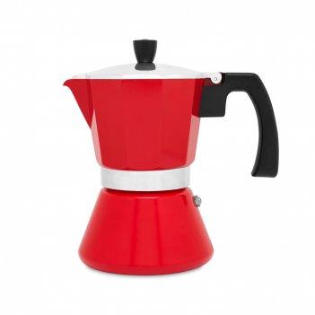 Кофеварка гейзерная leopold vienna tivoli, объем: 310 мл, материал: нержав