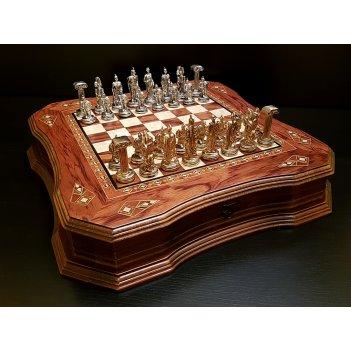 Шахматы легион роза антик
