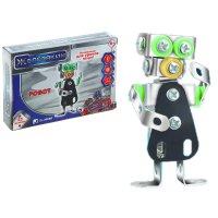 Конструктор металлический робот, 53 детали