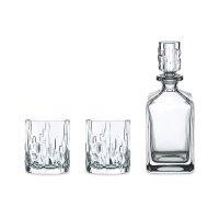 Набор из 3-х предметов shu fa: декантер: объем - 750 мл. + 2 стакана: объе