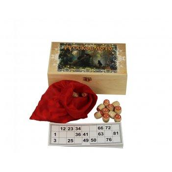 Подарочное русское лото медведи (sa-lot-002)