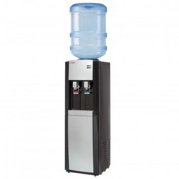 Кулер для воды ael lc-ael-58 b, компрессорный, нагрев 5 л/ч, холодильник,