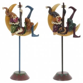 Фигурка декоративная клоун l13 w7 h25 см, 2 в.