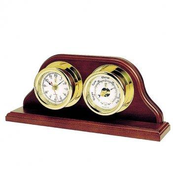 Часы настольные с барометром