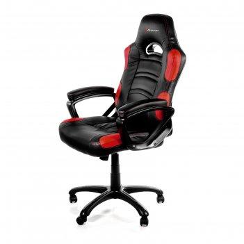 Кресло для геймеров arozzi enzo, красное