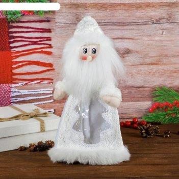 Подарочная упаковка дед мороз мохнатая борода, вместимость 800 гр.