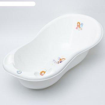 Ванна детская 102 см., принцесса, цвет белый