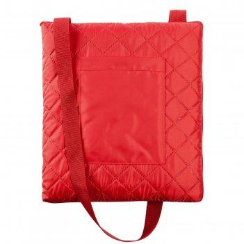 Плед для пикника soft   dry, размер 115x145 см, цвет тёмно-красный