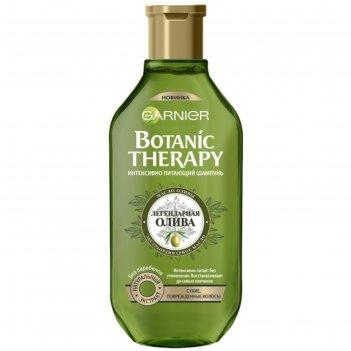 Шампунь garnier botanic therapy «олива», для сухих и повреждённых волос, 2
