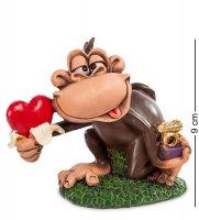Rv-473 фигурка обезьяна подарок любимой (w.stratford)