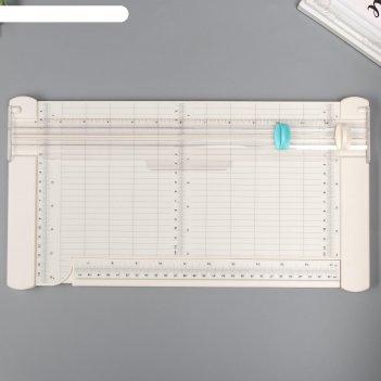 Резак для бумаги роликовый ручной 3х38х21 см
