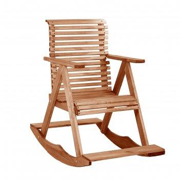 Кресло-качалка мореное 70х110х90см, липа добропаровъ