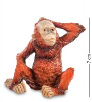 Ws-762 статуэтка детеныш орангутанга