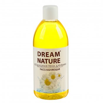 Пена для ванн dream nature  ромашка 1 л