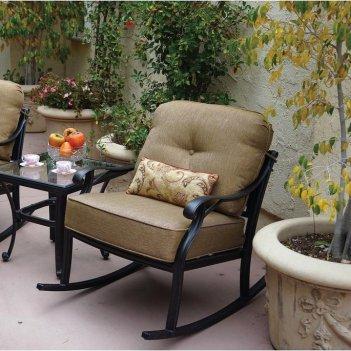 Кресло-качалка вишневый садъ модерн , садовая мебель