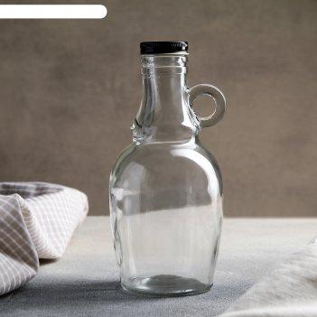 Бутыль для соусов и масла «луи» 550 мл, 9,5x9,5x19,5 см