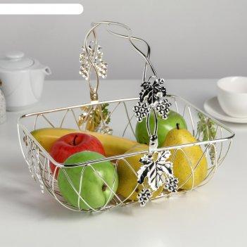 Ваза- фруктовница виноград 27х21 см