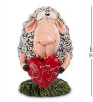 Rv-144 фигурка овца кудрявая любовь (w.stratford)