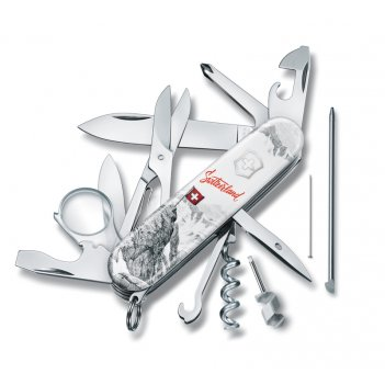 Нож перочинный victorinox explorer swiss spirit se 2020, 91 мм, 19 функций