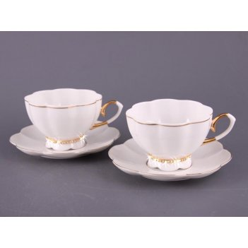 Чайный набор на 2 персоны рублевка 4 пр. 250 мл (кор=12набор.)