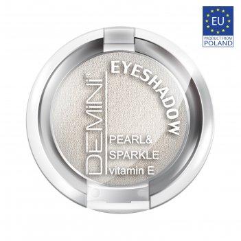 Тени для век demini pearl & sparkle eye shadow с витамином е, тон 634 жемч