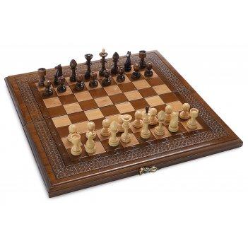 Шахматы + нарды резные classik  50, harutyunyan