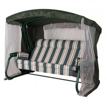 Качели summer suite milan premium green, садовая мебель