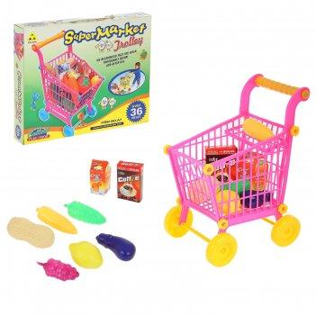 Игровой набор супермаркет с продуктами (маленькая), высота: 27 см