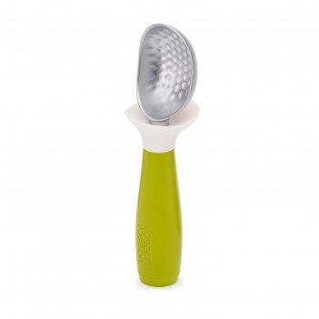 Ложка для мороженого с защитой от капель joseph joseph dimple, зелёная