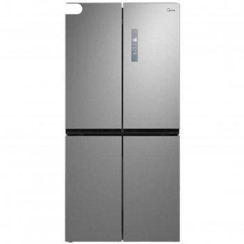 Холодильник midea mrc518sfngx, side by side, класс а+, 544 л, no frost, се