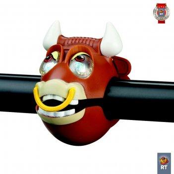 320240 фонарик bull light с брелком-фонариком