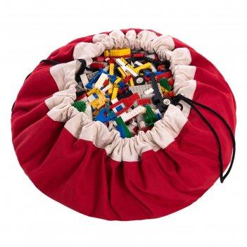 Игровой коврик-мешок для хранения игрушек 2 в 1 play go, коллекция classic