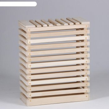 Ящик для белья сундук, 22x50x60см