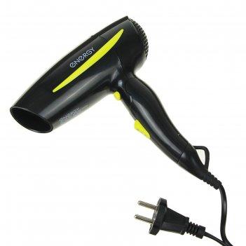 Фен для волос energy en-859, 1200 вт, 2 скорости, 3 температурных режима,
