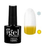 Топ-термо для ногтей, трёхфазный led/uv, 10мл, цвет прозрачный/жёлтый