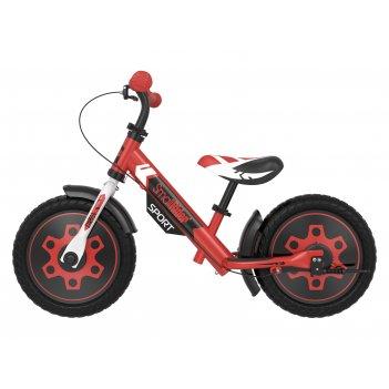 Беговел с 2 тормозами small rider roadster sport 4 eva (красный)