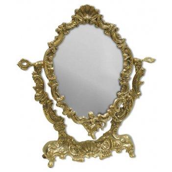 al-82-175 зеркало  настольное ракушка