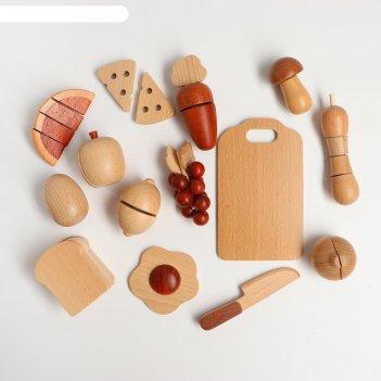 Игровой набор на липучке повар 36х7х30 см