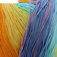 Пряжа miss batik 100% мерсеризованный хлопок 280м/50гр (3716)