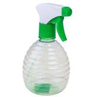 Опрыскиватель для растений 0,5 л, зеленый прозрачный