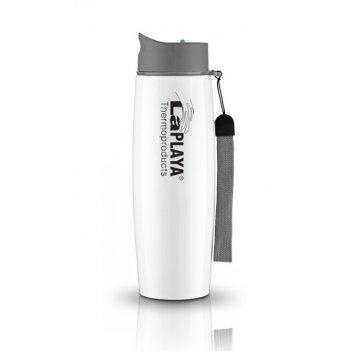 Кружка-термос из нерж. стали laplaya thermo mug ss strap 0.5 l white