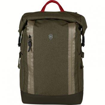 Рюкзак victorinox altmont classic rolltop laptop 15'', зелёный,