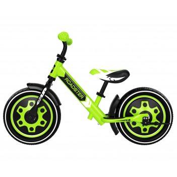Детский алюминиевый беговел small rider roadster 3 (classic air)  (зеленый