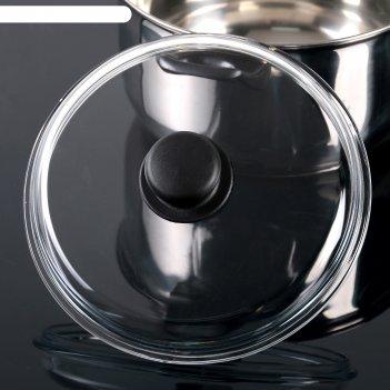 Крышка стеклянная 220 мм, прессованная, высокая