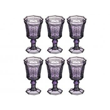 Набор бокалов для вина муар 350 мл. высота=16 см...