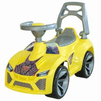 Ор021 каталка машинка ламбо с клаксоном жёлтый